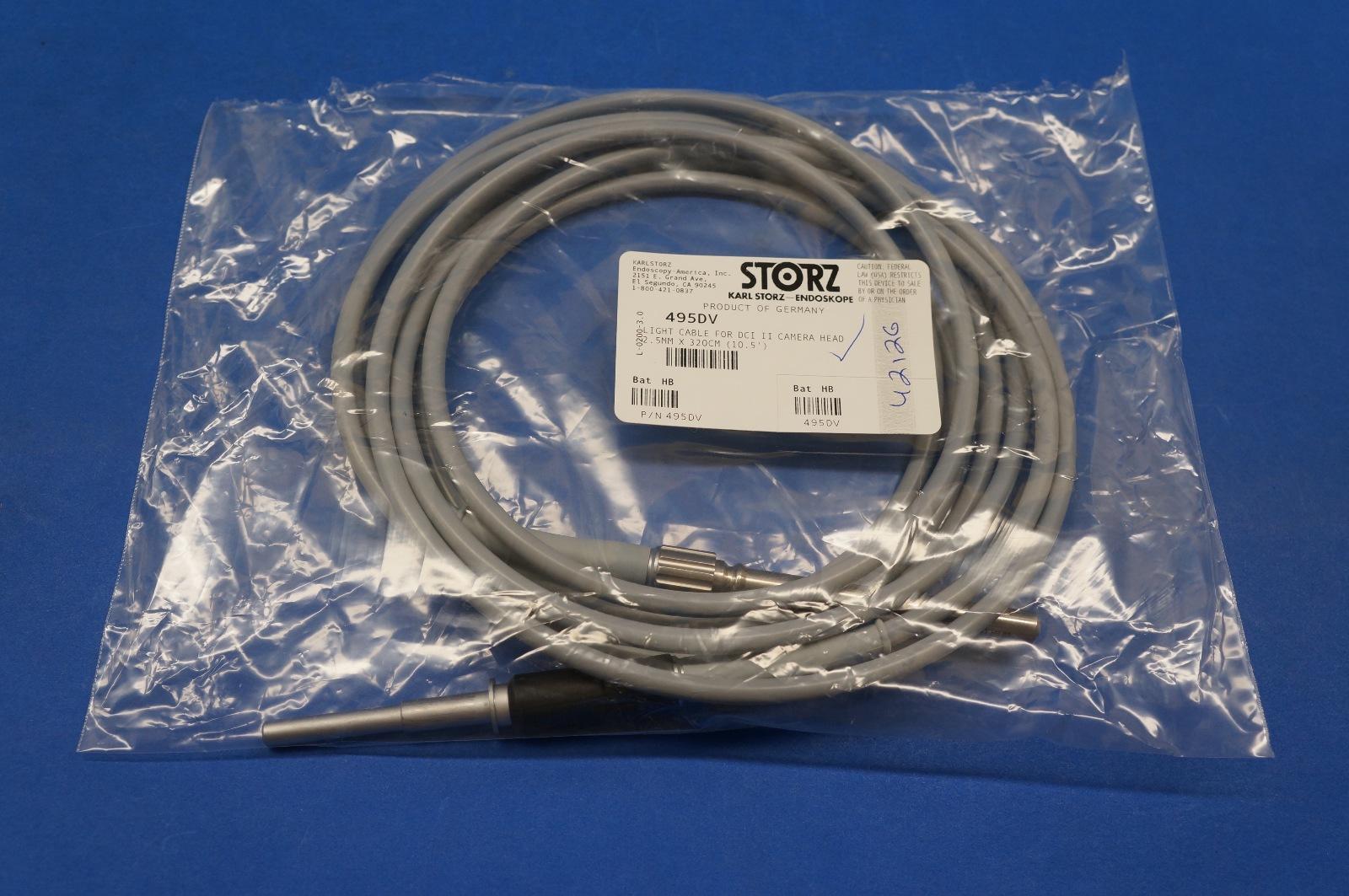karl storz 495dv fiber optic light cable 2 5 mm diameter length