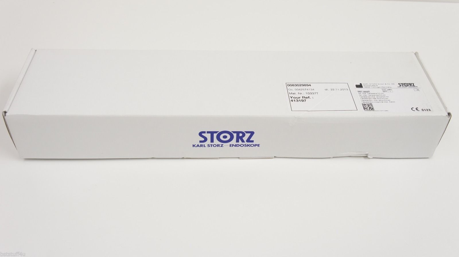 Details about Karl Storz 10337T Groningen Model Optical Intubation  Tracheoscope