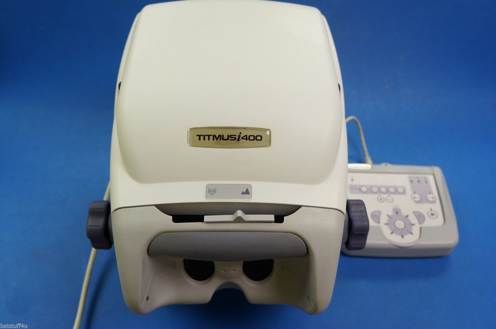 titmus i400 vision screener with membrane control panel and 8 slides rh ebay com Titmus V2 Vision Screener Titmus 2A Vision Screening Manual