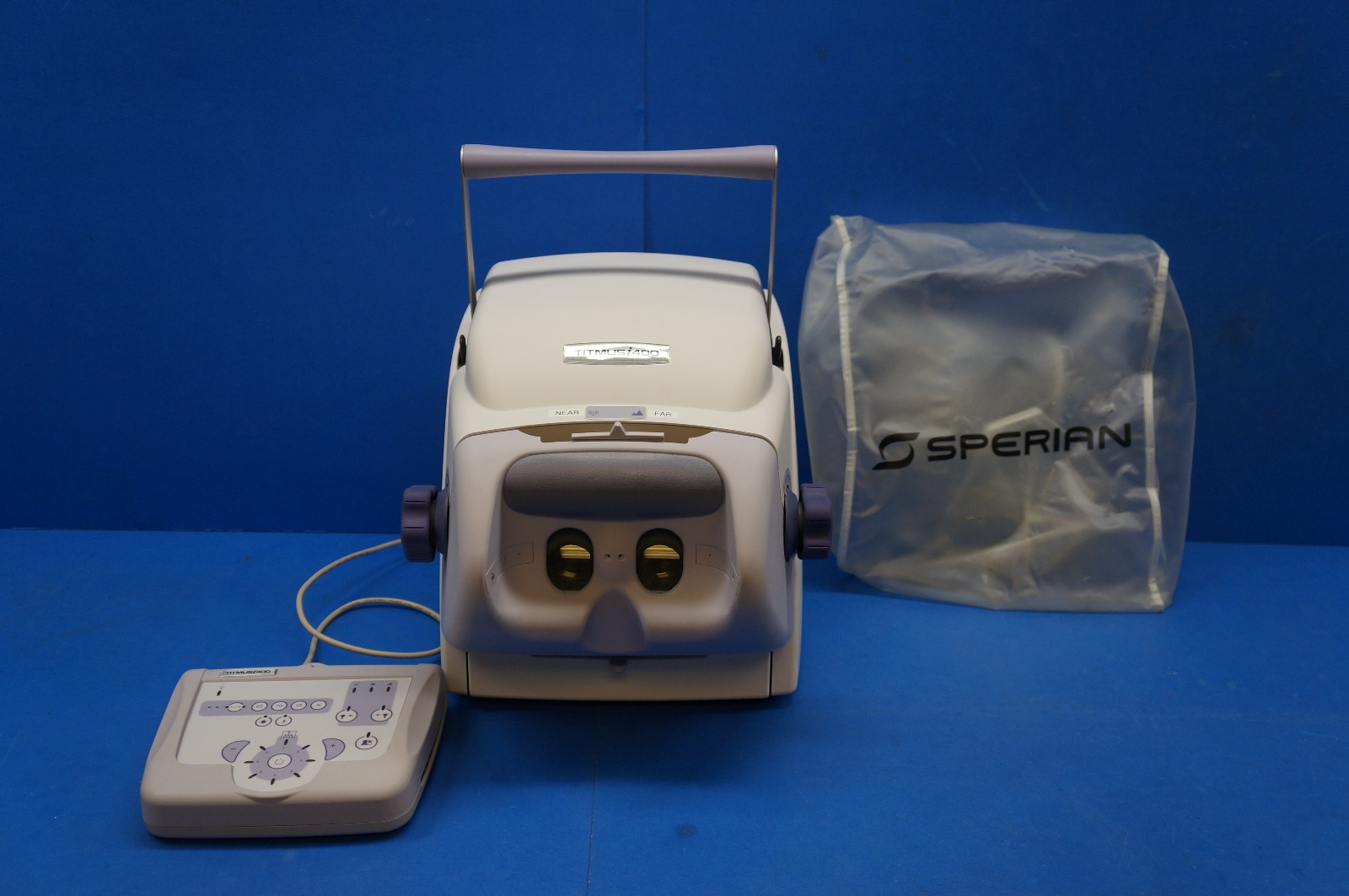 sperian titmus i400 vision screener with membrane control panel ebay rh ebay com Titmus Training Manual Titmus Training Manual