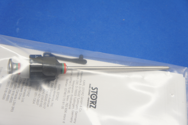 Details about Karl Storz 30117GP Lightweight Trocar+Cannula W/Silicone  Valve, 3 9mm x 10cm