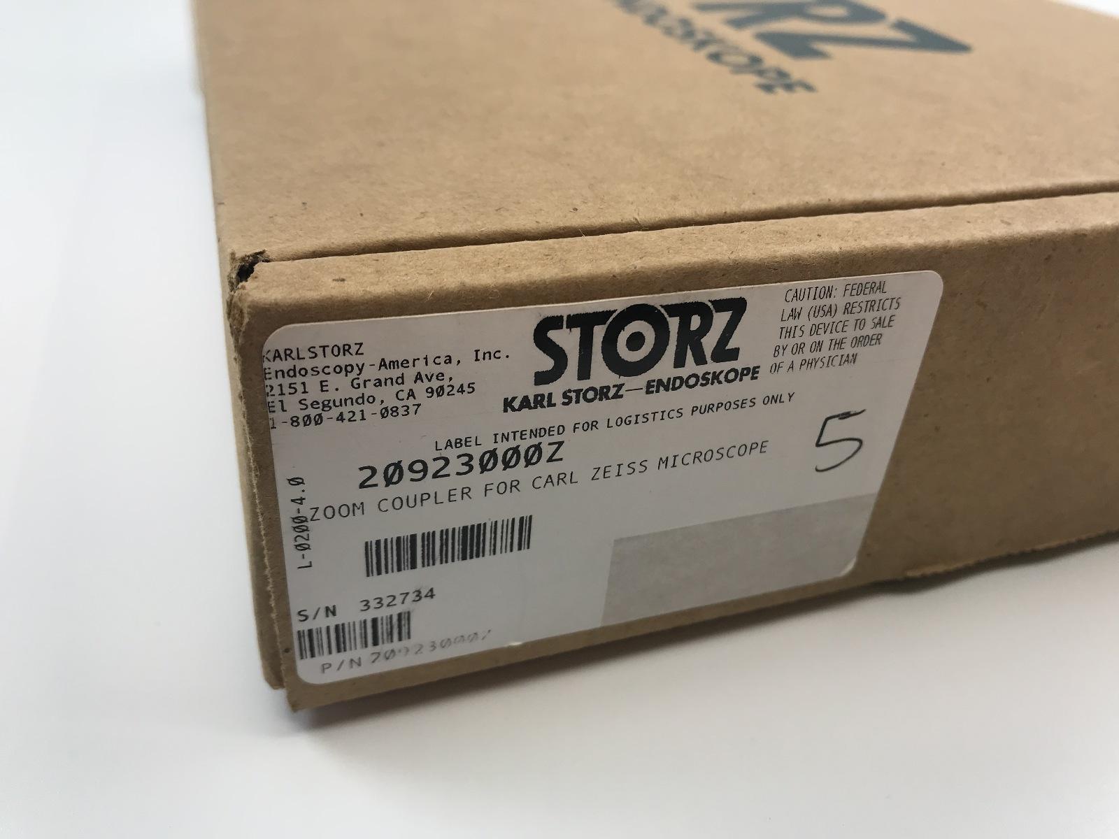 Details about Karl Storz 20923000Z QUINTUS Zoom TV Adaptor, For CARL ZEISS  MEDITEC