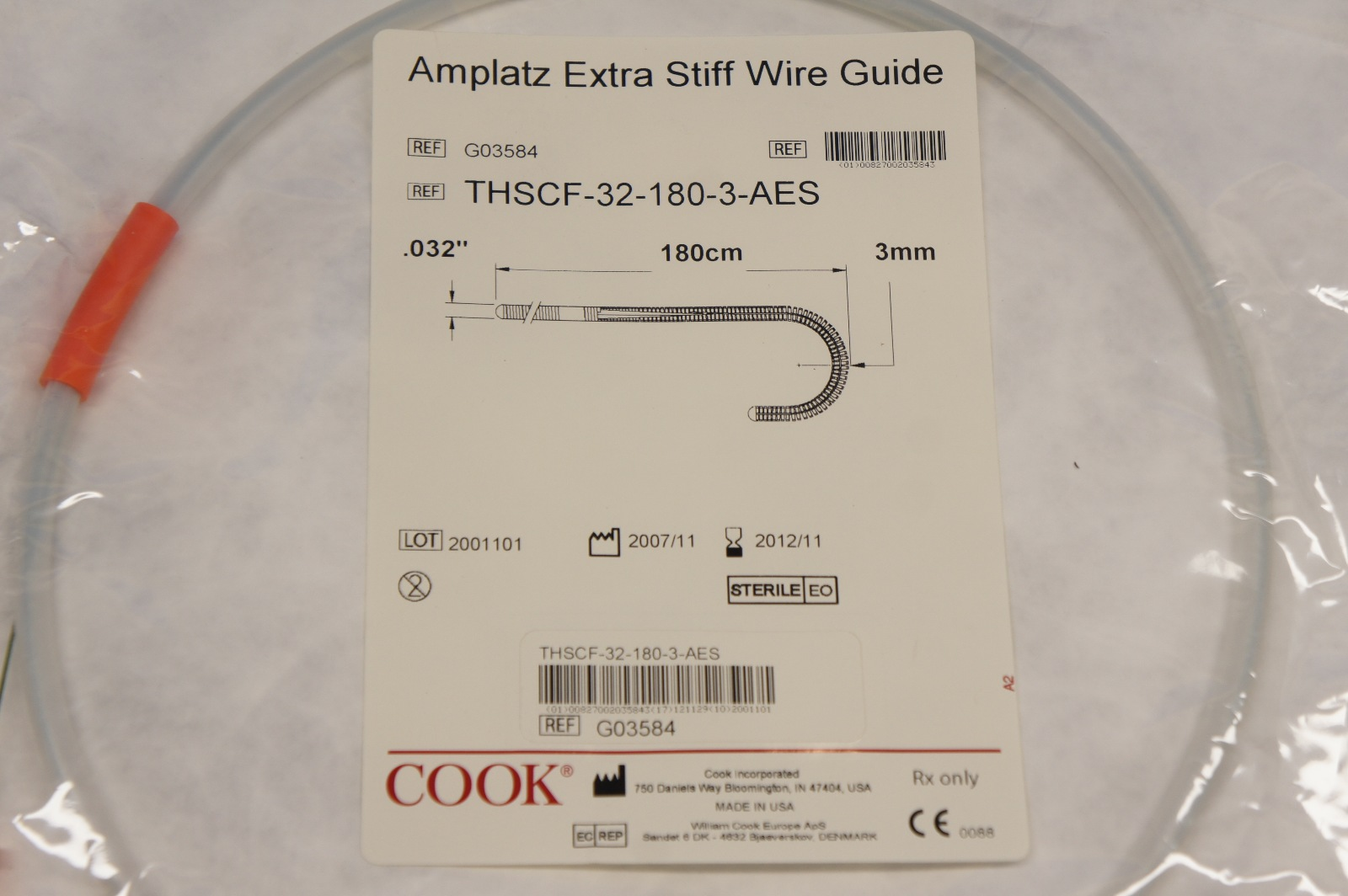 Cook Guide Wires Wire Center 221512w Dual Power Amplifier With Ka2214 Medical G03584 Amplatz Extra Stiff 0 032 X 180cm Rh Ebay Com