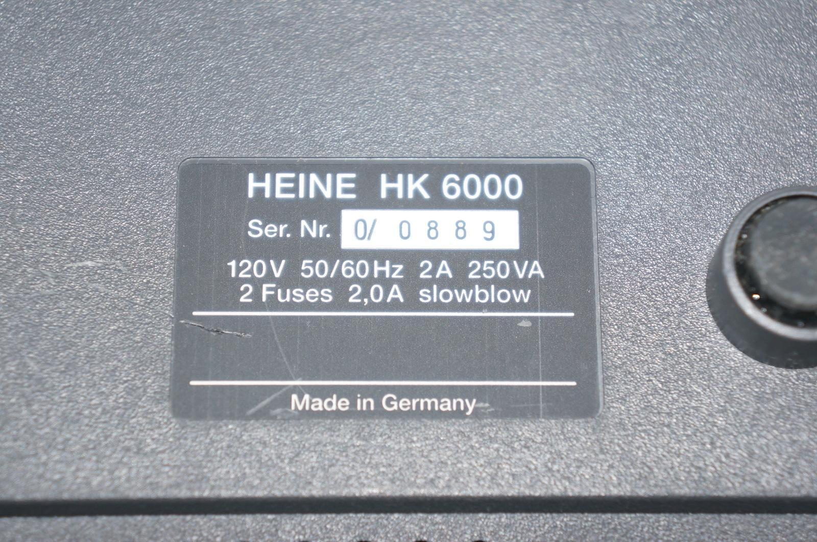 Heine HK6000 Light source Heine HK6000 Light