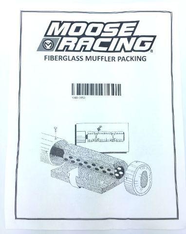 Lexx 4 Stroke Silencer Packing Exhaust Muffler Fiber Fiberglass Motorcycle ATV