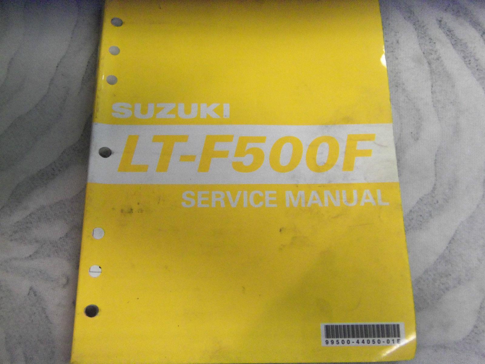 Suzuki LT-F500F Genuine Service Manual 99500-44050-01E · «