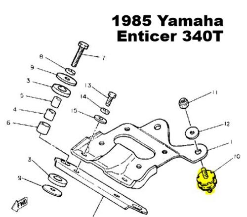 Wiring Diagram 79 Yamaha Enticer 340    Wiring Diagram