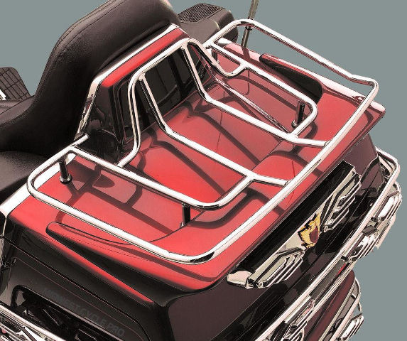 Kuryakyn Chrome Rear Trunk ISO Luggage Rack Upgrade Honda Goldwing GL 1500