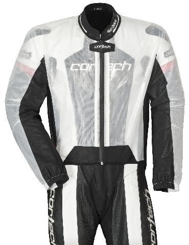 Cortech ROAD RACE Rainsuit Pants Sizes XS-XL Clear