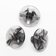 Shoei Smoke Cross Visor 3pc Screw Set for VFX-EVO VFX-W V-Moto VFX-DT Helmets
