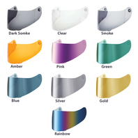 HJC HJ-09 Replacement Helmet Shield w/Pinlock Pins - All Colors