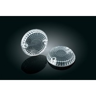 Kuryakyn 2265 Clear Turn Signal Lenses For Kawasaki Vulcan Yamaha Raider V-Star
