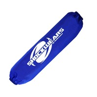 Suzuki LT-Z400 QuadSport Z Shock Cover Pair Blue by Outerwears - 30-1000-02
