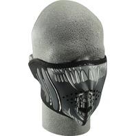 ZANheadgear Neoprene Half Mask Alien - WNFM039H