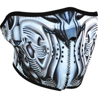 ZANheadgear Neoprene Half Mask BioMechanical - WNFM074H