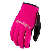 Troy Lee Designs XC Pink Off-Road Riding Gloves - Adult Small-2XL