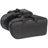 Tourmaster Select Saddlebag Liners w/ Dual Zipper Entry - Black