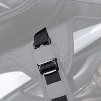 Cortech Super 2.0 24L Tail Bag Replacement Parts - Mounting Straps (4)