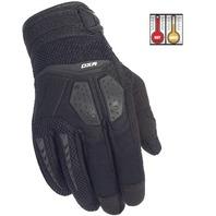 Cortech DXR Black Performance Motorcycle Gloves - Men's XS-3XL