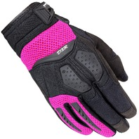 Cortech DXR Pink Performance Motorcycle Gloves - Womens Small-Large