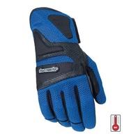 Tourmaster Intake Air Abrasion-Resistant Motorcycle Gloves - Mens XS-3XL - BLUE