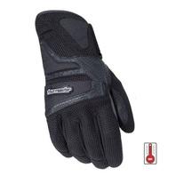 Tourmaster Intake Air Abrasion-Resistant Motorcycle Gloves - Mens XS-4XL - BLACK