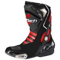 Cortech IMPULSE AIR Road Race Boot w/ TPU Protection - Black - Men's Sizes 7-14