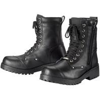 Tourmaster COASTER WP Weatherproof Road Boot - Black - Men's Sizes 7-14