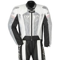 Cortech ROAD RACE Rainsuit Jacket - Clear - Sizes XS-XL