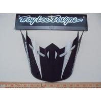 Troy Lee Designs TLD SE2 Orbit Helmet Visor - Intrepid BlackWhite 1117-0200