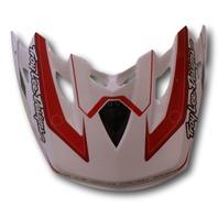 Troy Lee Designs TLD SE2 Replacement Helmet Visor - Throttle White 1119-0100