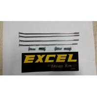 "Excel XS9-21167 Rear Wheel 16"" Replacement Spokes/Nipples- Kawasaki KX 80 85 100"
