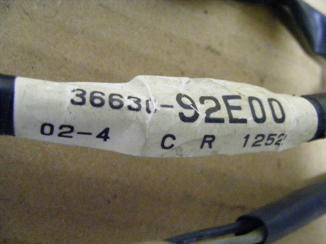 Suzuki Outboard Motor 36630-92E00 Instrument Wire Harness 40-225 HP Boat