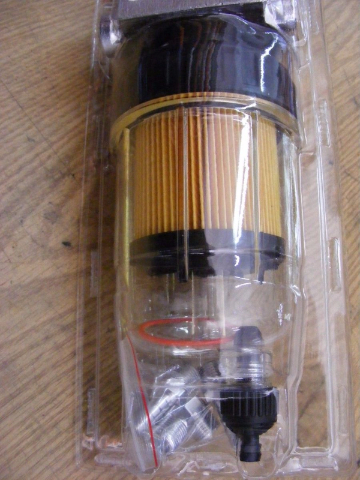 Water Separator Fuel Filter-Drain Qwick View f Mercury Suzuki Marpac FF30100 MD