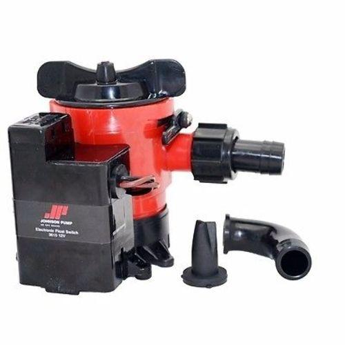 Johnson Pumps 05503-00 Cartridge Combo Bilge Pump 500Gph 12V