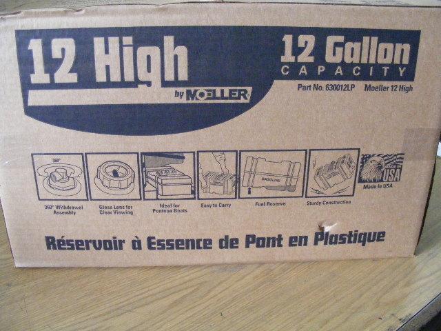 Moeller Portable 12 Gallon Fuel Tank High Profile 630012lp