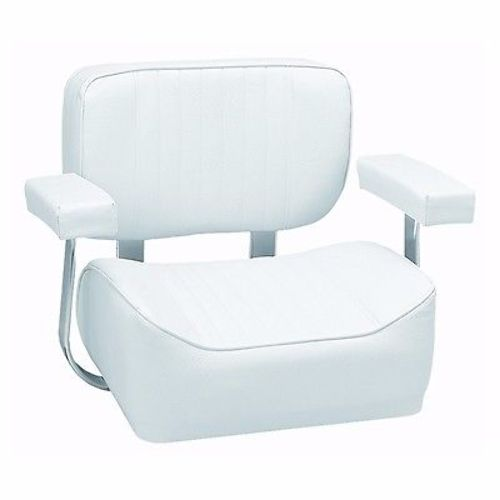 Springfield Deluxe Captain's Seat With Aluminium Armrest Off White 1040002 MD