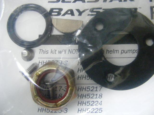 Details about Seastar Baystar Helm HP6032 Helm Repair Kit Nut-Key-Seal  Steering Teleflex MD