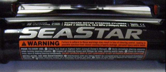Details about Teleflex SeaStar HC5375-3 Front Mount Outboard Cyl w Heavy  Duty Piston Seal MD