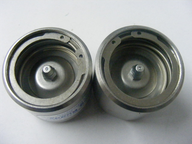 """Bearing Buddy 43104 Stainless Steel 2.328/"""" Trailer 2328-SS Marine Grease Hub MD"""