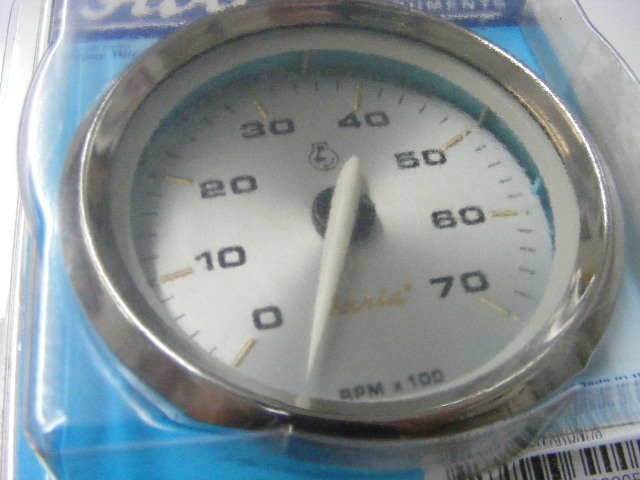 Faria Kronos Tachometer 07k RPM Gauge 39005 UNIVERSAL Yamaha – Johnson Faria Tachometer Wiring