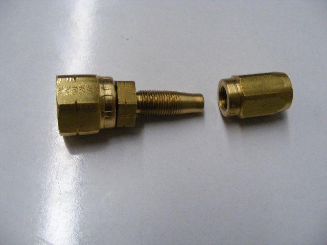MP Parts 2TFMS-6-5B Fitting w O-Ring f Seastar Bulkhead Hydraulic Steering Hose