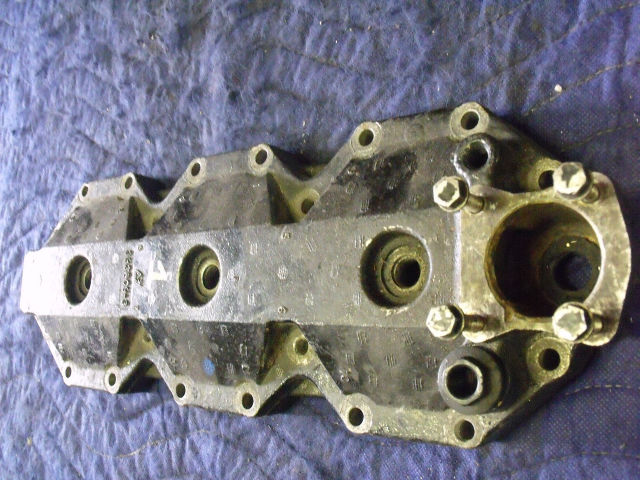 USED Johnson Evinrude 185-200-225 HP Cylinder Head # 0397860