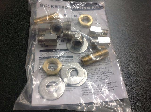 Teleflex HF5513 Single Cylinder SeaStar Bulkhead Fitting Kit