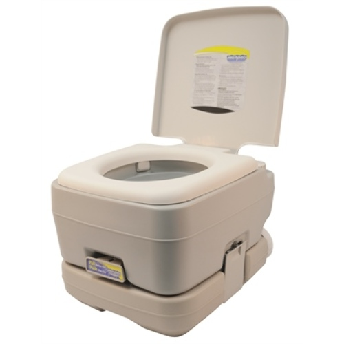 Click Thumbnails to Enlarge. Marpac Self Contained Portable Toilet 2 6Gal 10Lt COOL GRAY Marine