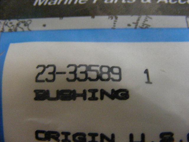New OEM Mercruiser Bushing Part Number 23-33589