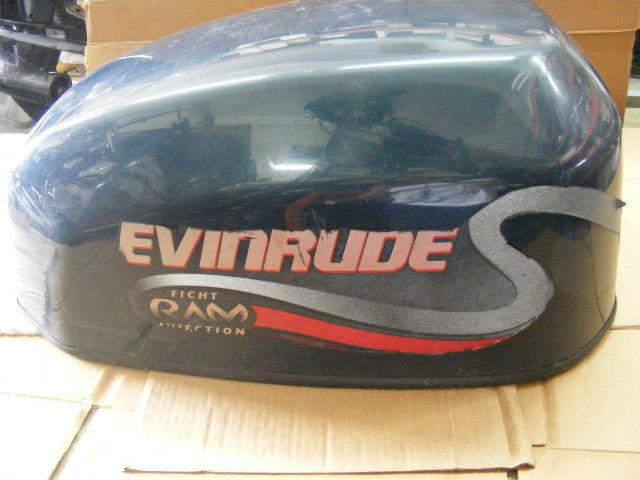 Details about Johnson Evinrude 90-115 HP Ficht Ram Injection Engine Cover  285214 Outboard