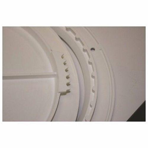 """TH Marine Quick Release Cam Lock Deck Plates 6/"""" Polar White DPCAM-6-2-DP"""