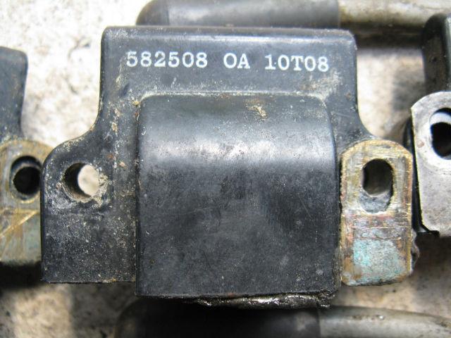NIB Johnson Evinrude 4-8-10-15-20-25-30-35-40 Ignition coil 582508 CDI 183-2508