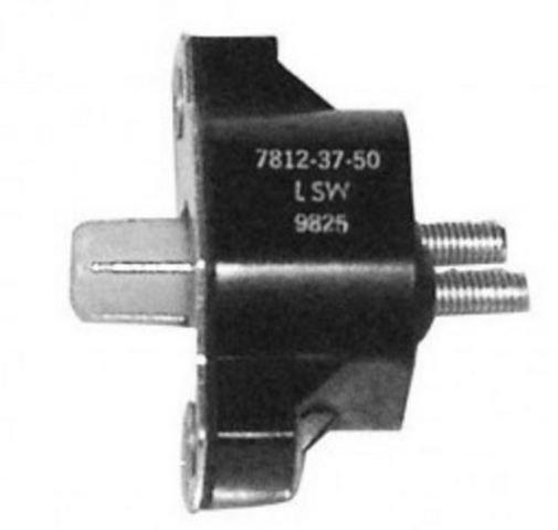 with Nut Connections and Attaching Hardware Quicksilver 50 Amp Circuit Breaker 11178A01